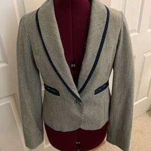 Lux pinstriped blazer Small